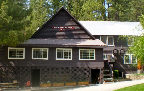 our historic lodge