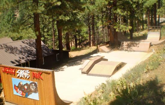 Walton's Skate Park at camp for children