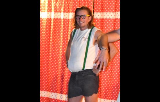 Matt Foley entertains at overnight summer camp