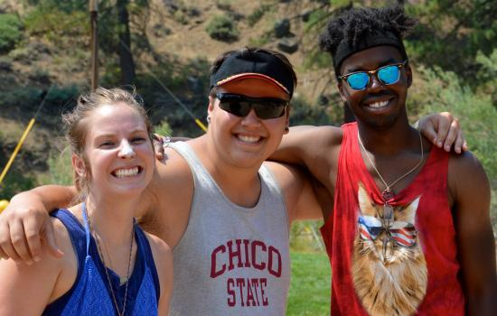 California summer camp staff members