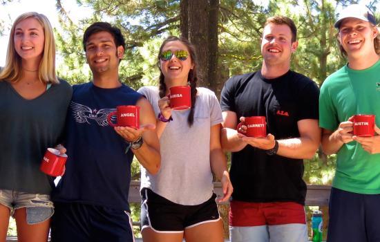 california summer camp staff