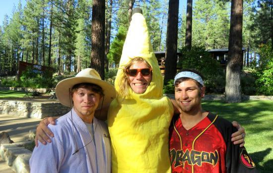 Walton's grizzly lodge summer camp staff