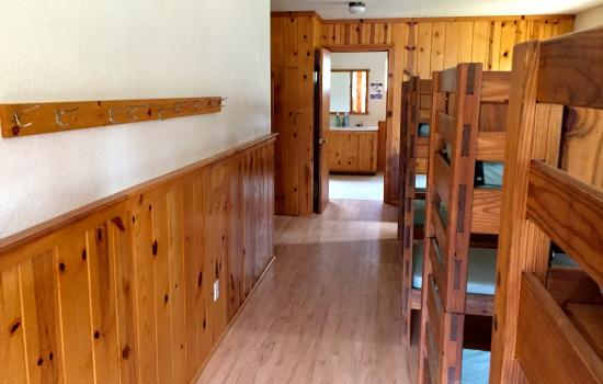 Inside Cabin at California summer camps