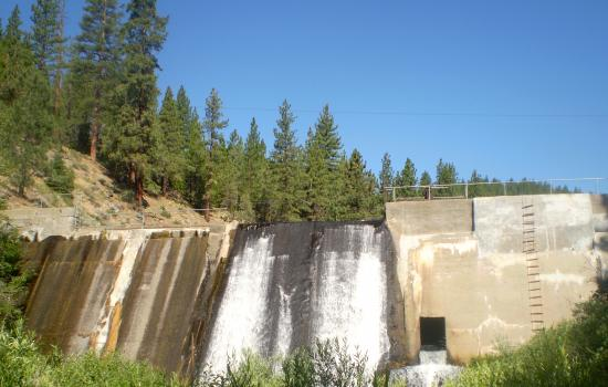 dam at grizzly lodge summer camp