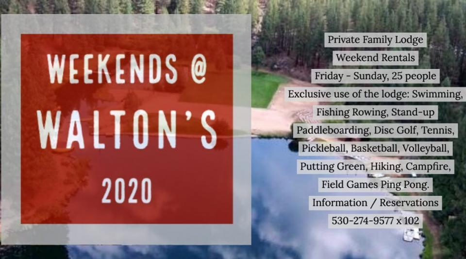 Weekends at Walton's Grizzly Lodge Summer Camp