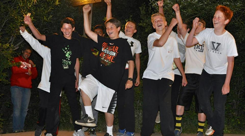 Campfire Highlights Waltons Grizzly Lodge Summer Camp