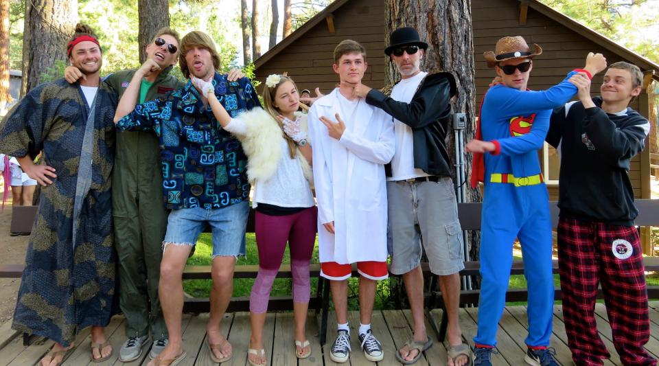 Hunger Games Cornucopia Video Spoof Waltons Grizzly Lodge Summer Camp