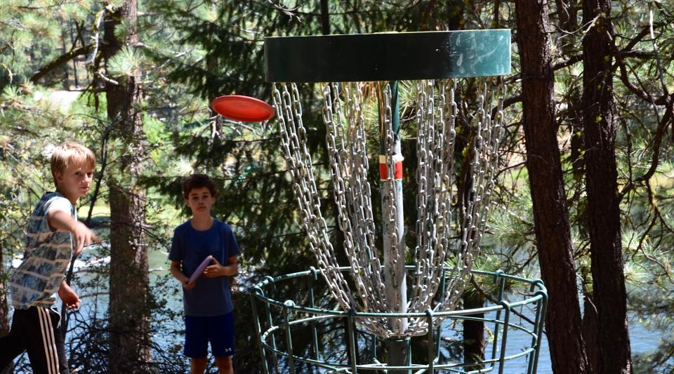 private disc golf course in california