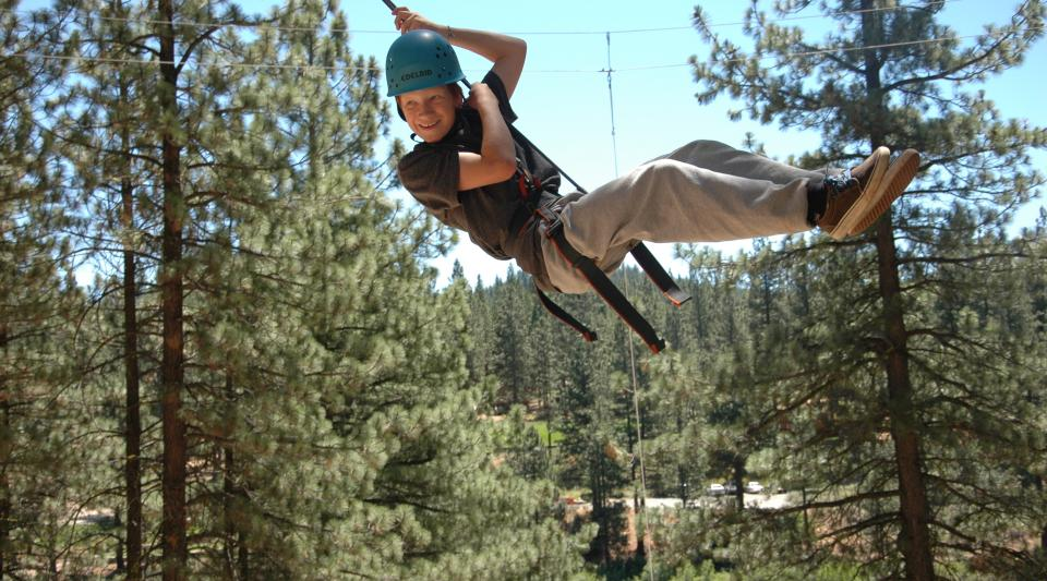 grizzly lodge ropes course activities