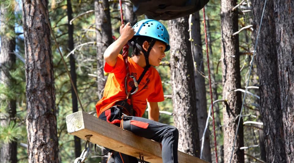 ropes course high adventure activities