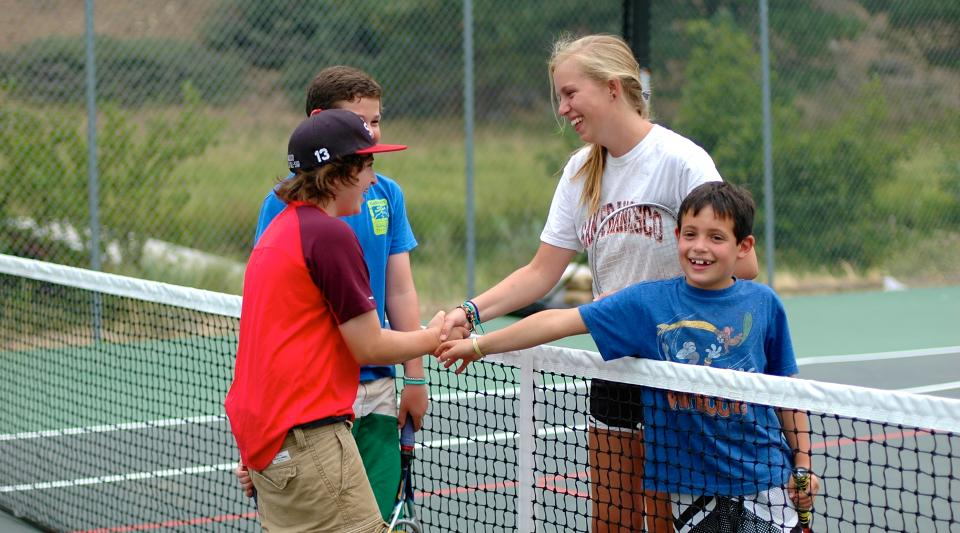 sportsmanship at california sleepaway summer camp