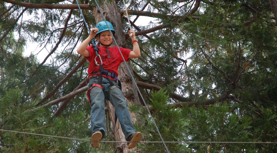 walton's high ropes adventures