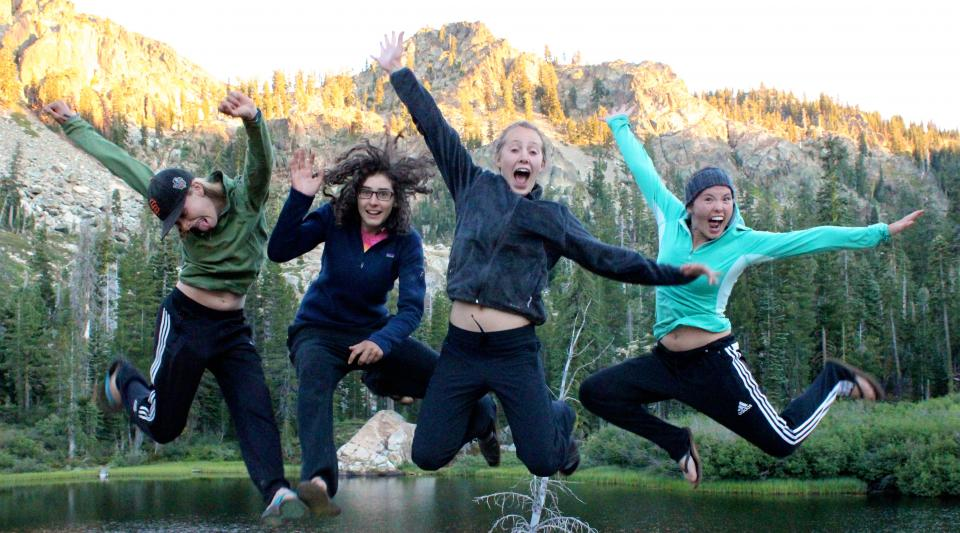 outdoor summer camp fun at sleepaway camp