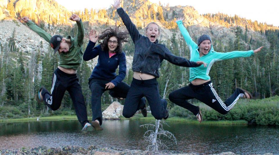 fun at summer camp in tahoe