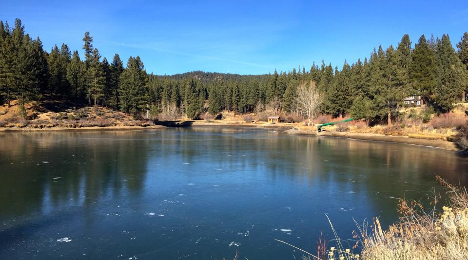 Walton's Grizzly Lodge Ice Pond