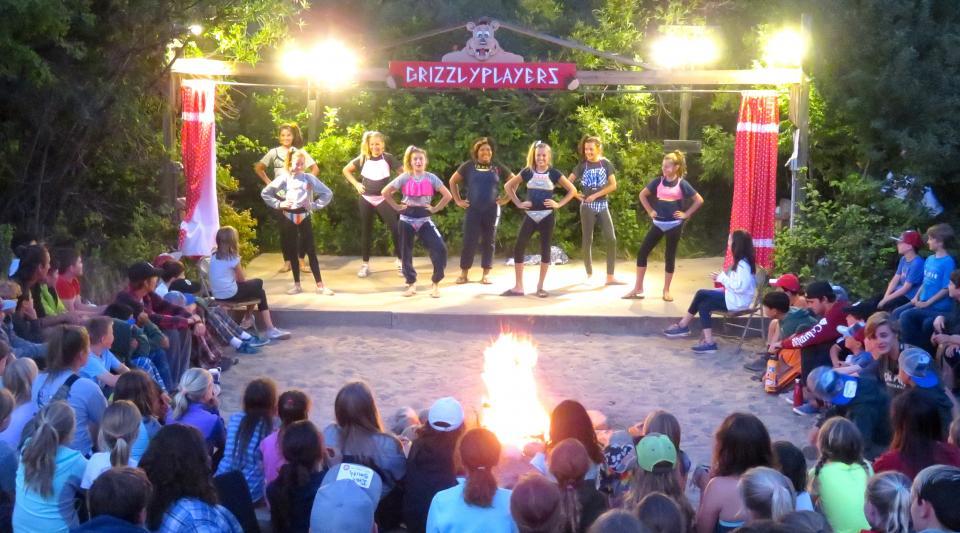 campfire fun at summer camp