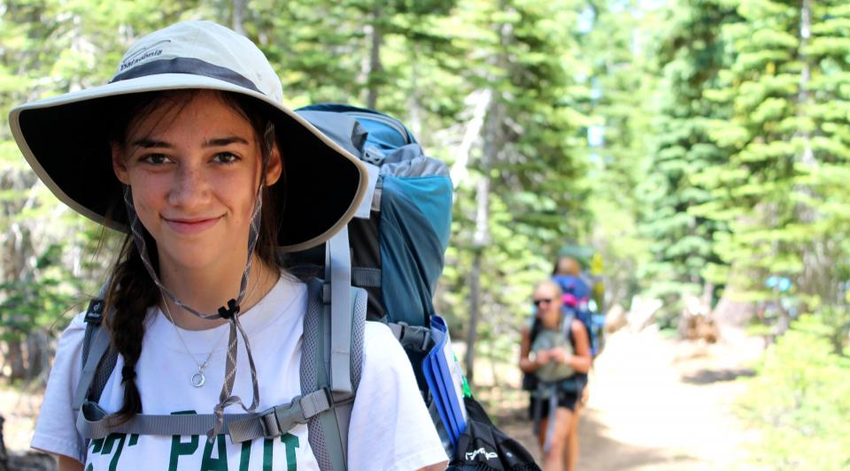 backpacking along the Pacific Crest Trail
