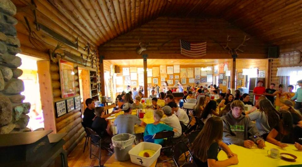 Historic Lodge at Walton's Grizzly Lodge Summer Camp