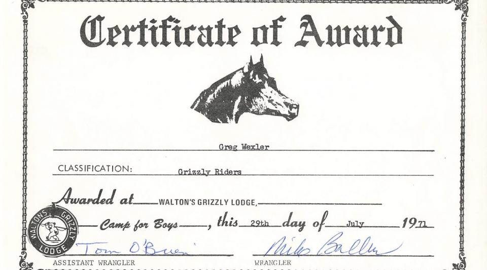 walton's grizzly lodge horseback riding program