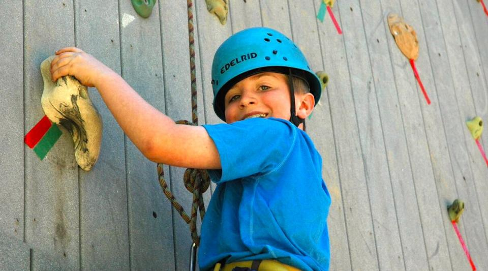 ropes course challenges at california camp