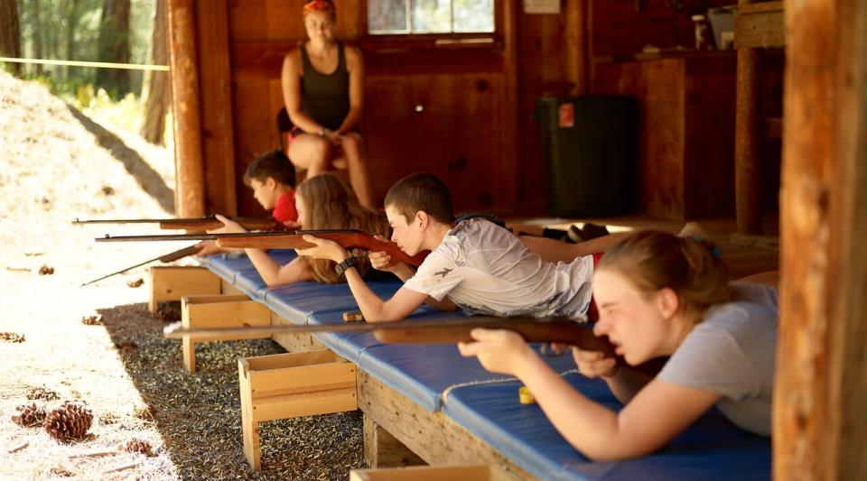 instruction at walton's grizzly lodge summer camp