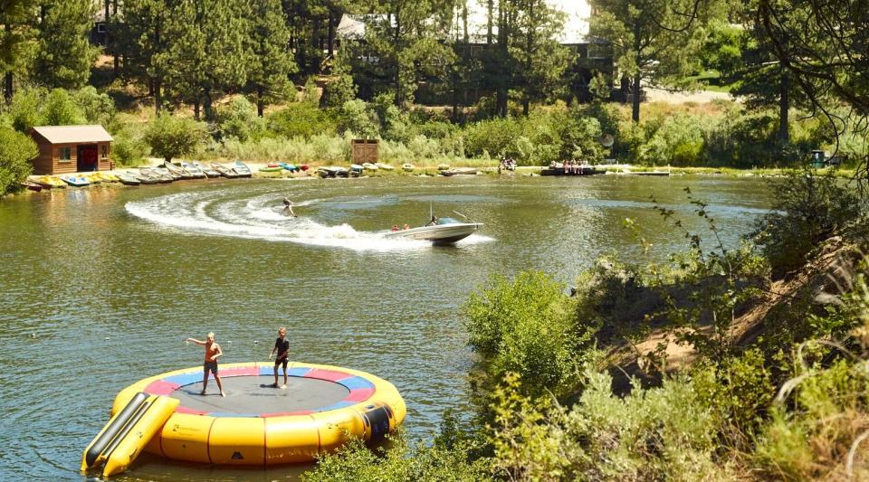 waterfront fun at kids camp near tahoe