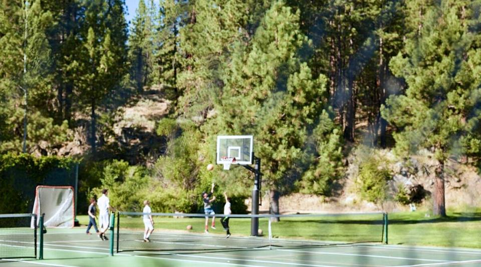 basketball at california sleepaway camp