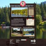 Walton's Grizzly Lodge new desktop and mobile webpage designs