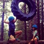 high ropes challenge course activities at Walton's