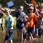 California Summer Camp Campers at Walton's Grizzly Lodge