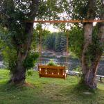 Fisherman's Point swing dedicated at Walton's Grizzly Lodge