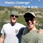 Walton's Weekly Challenge while sheltering and placing