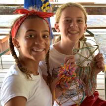 arts and crafts activities at camp