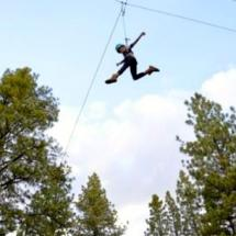 ropes course at camp grizzly lodge