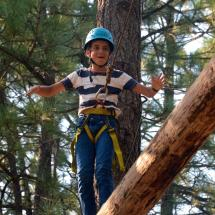 ropes course activities at Walton's