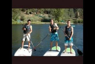 Waterfront Activities - Walton's Grizzly Lodge Summer Camp
