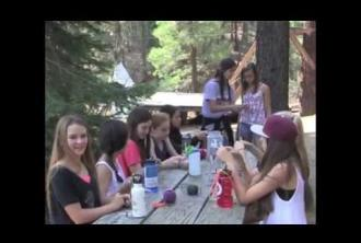 Tipi Village - Walton's Grizzly Lodge Summer Camp