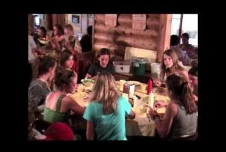 Dinner and Evening Activities - Walton's Grizzly Lodge Summer Camp